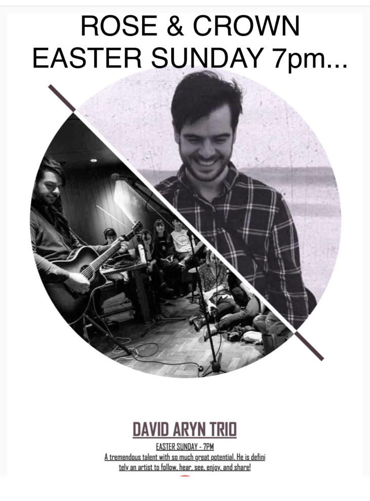 LIVE BAND NIGHT... David Aryn Trio