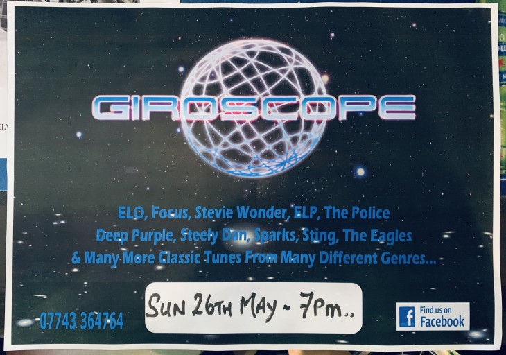 LIVE BAND NIGHT 'GIROSCOPE'