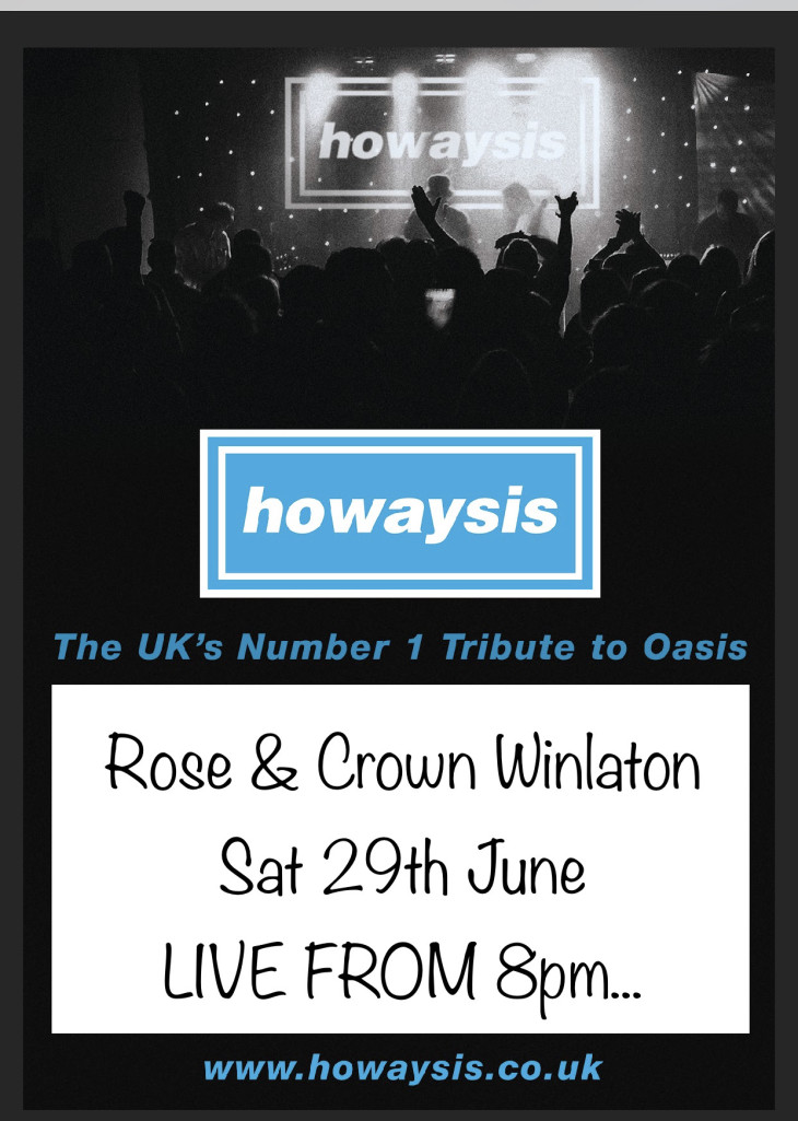 LIVE BAND NIGHT 'HOWAYSIS'