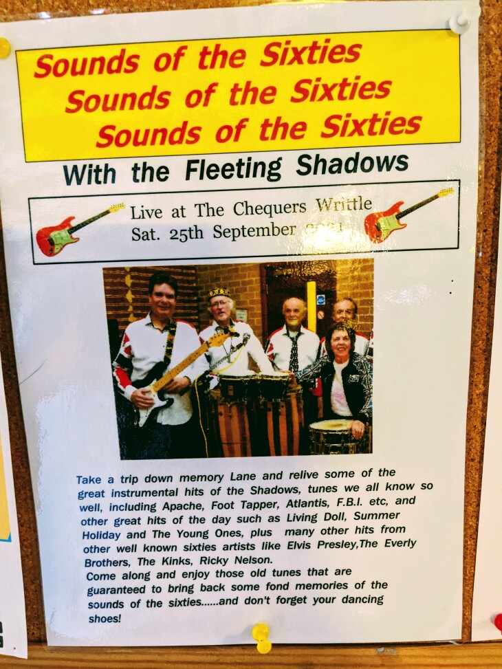The Fleeting Shadows - live music