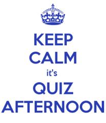 Afternoon Quiz