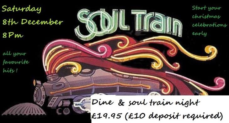Steak Night Soul Train