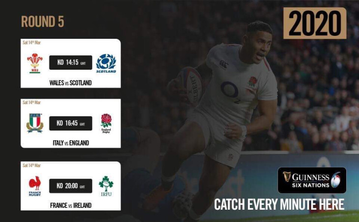 Six Nations 2020 Round 5