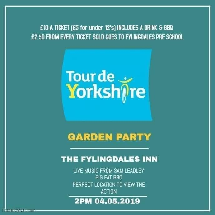 TOUR DE YORKSHIRE GARDEN PARTY