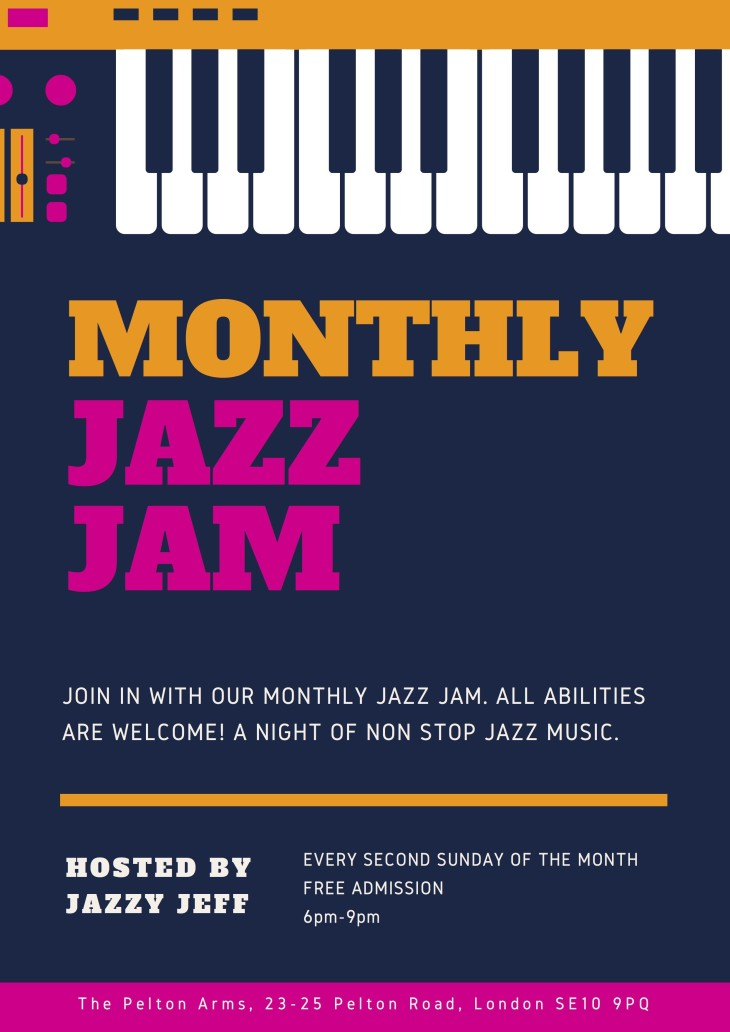 Jazzy Jeff's Jazz Jam.
