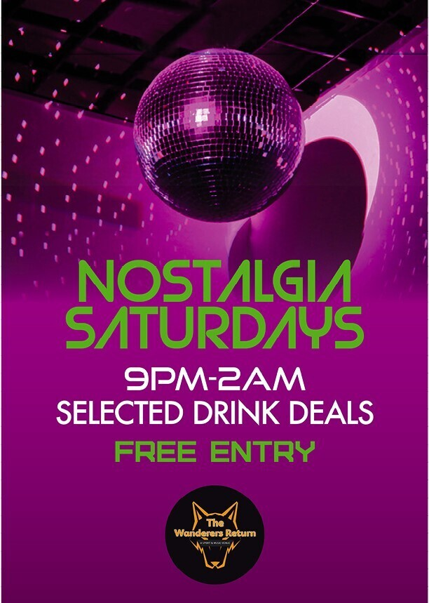 Nostagia Saturdays