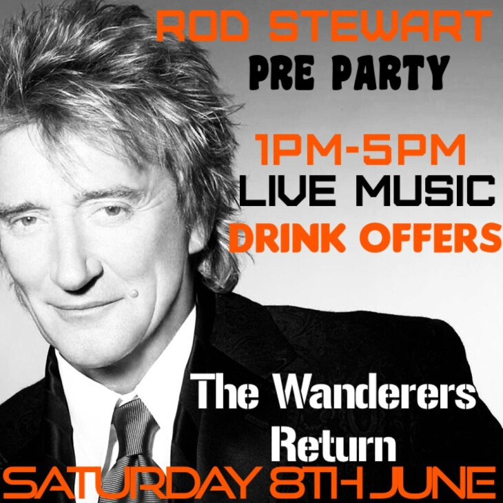 Rod Stewart Pre Party