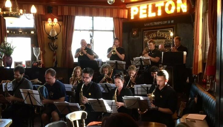 Jazzy Jeff's Big Band.