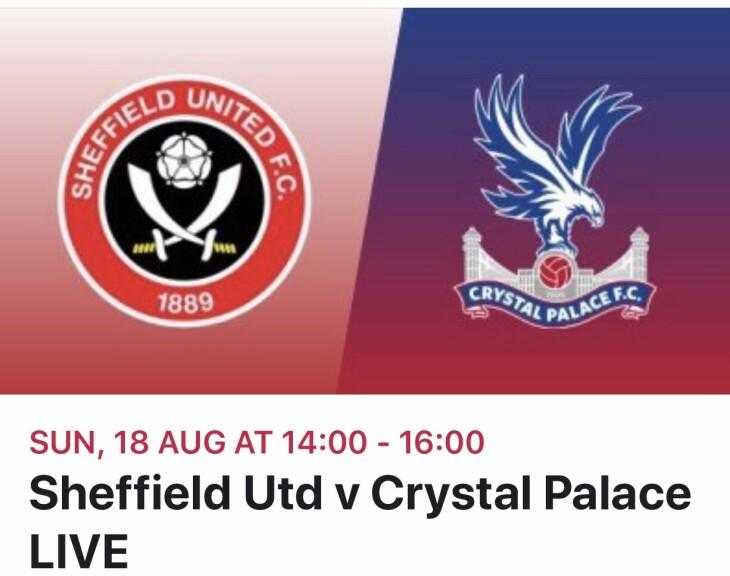 Sheffield Utd v Crystal Palace
