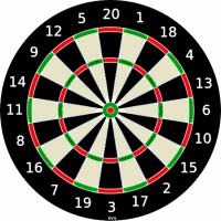 Monday night darts