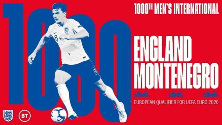 England v Montenegro