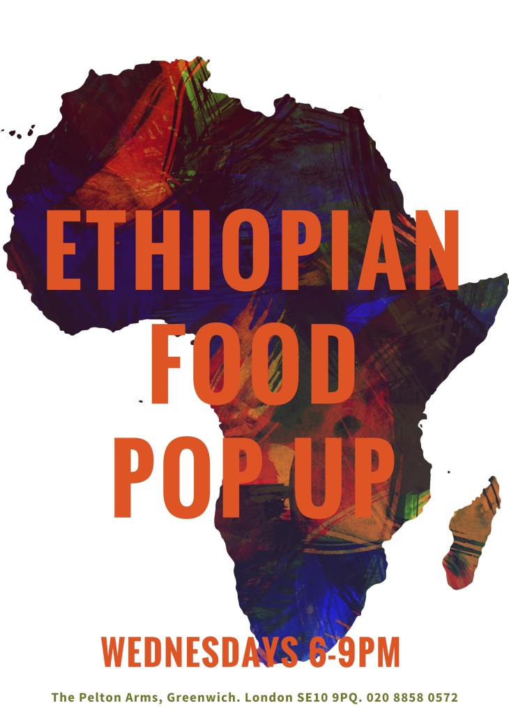 ETHIOPIAN FOOD POP UP