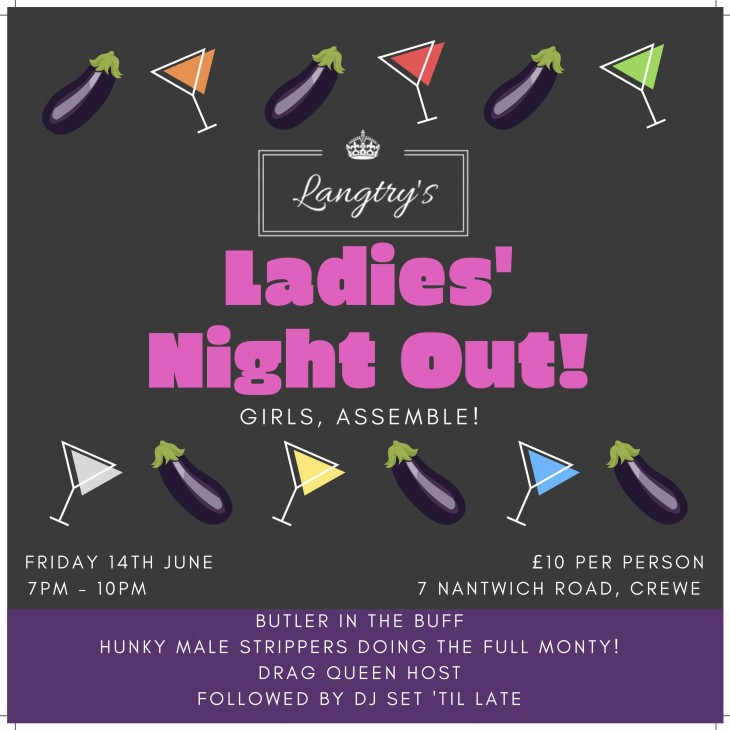Ladies Night Out! Full Monty