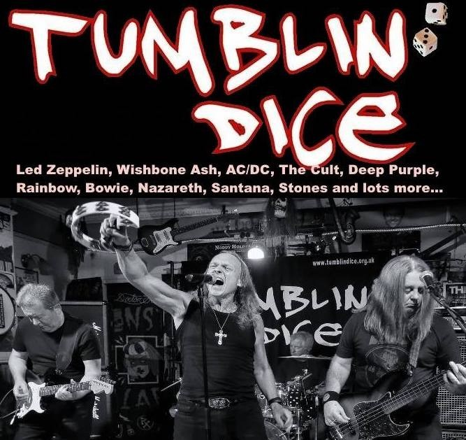 LIVE BAND Tumblin Dice
