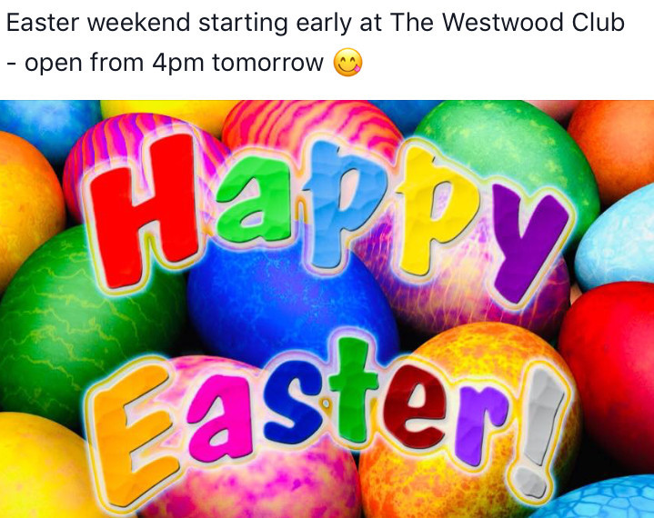 Early Easter opening