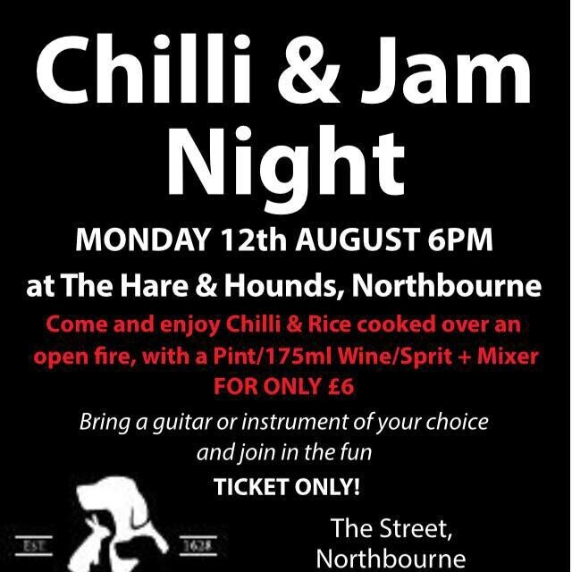 Chilli & Jam Night