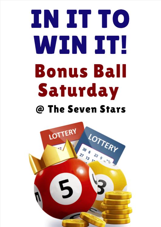 In it to Win It- Bonus Ball Saturdays