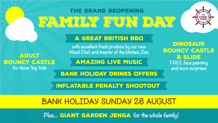 Family Fun Day - Grand Reopening!