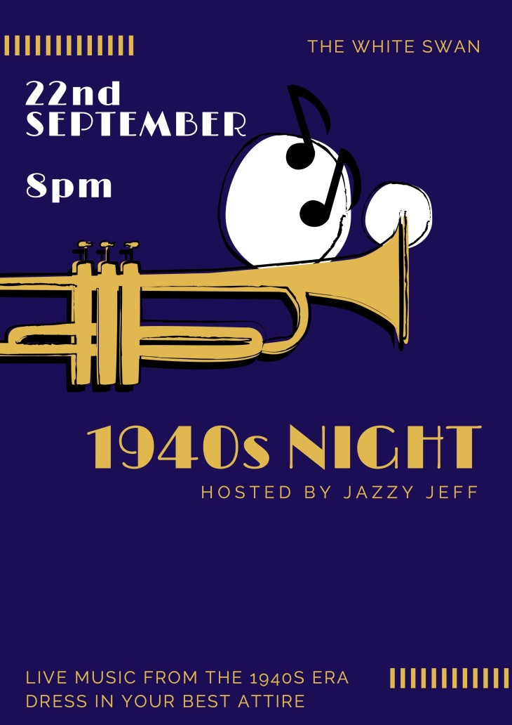 1940s NIGHT HOSTED BY JAZZY JEFF