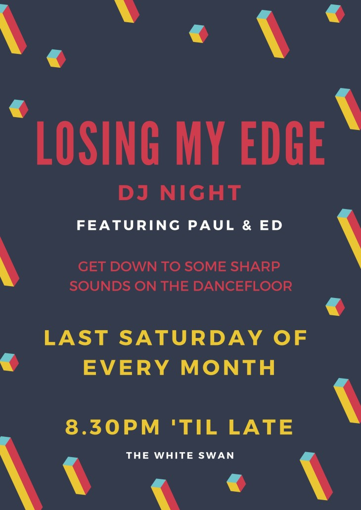Losing My Edge - DJ Night