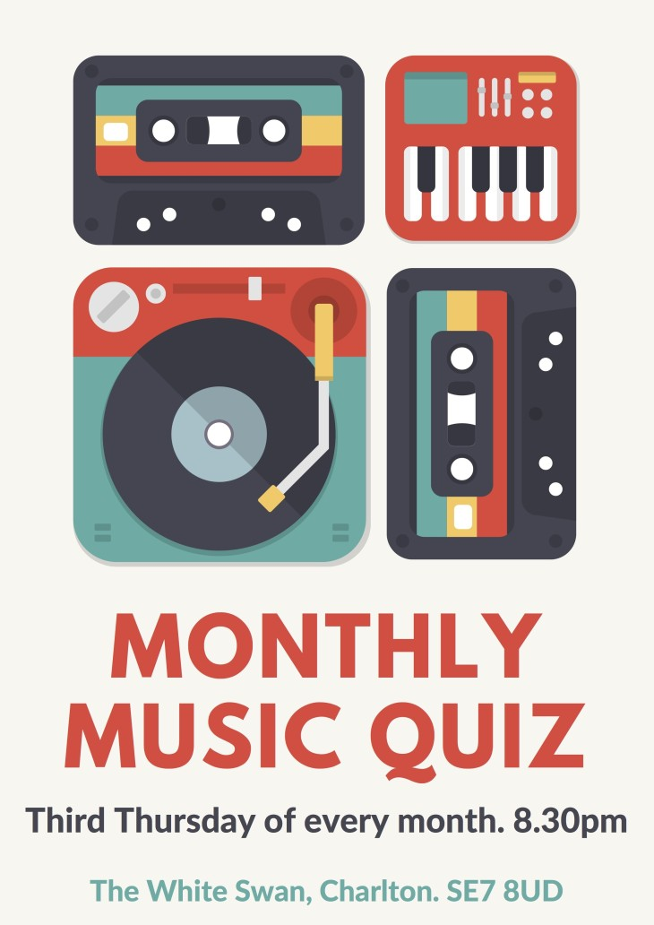 MONTHLY MUSIC QUIZ