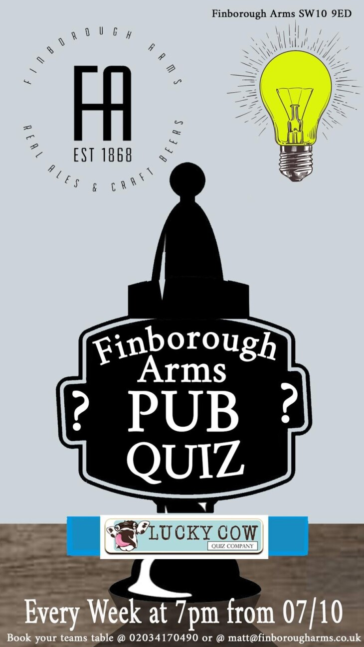 Pub Quiz - Presented by Lucky Cow