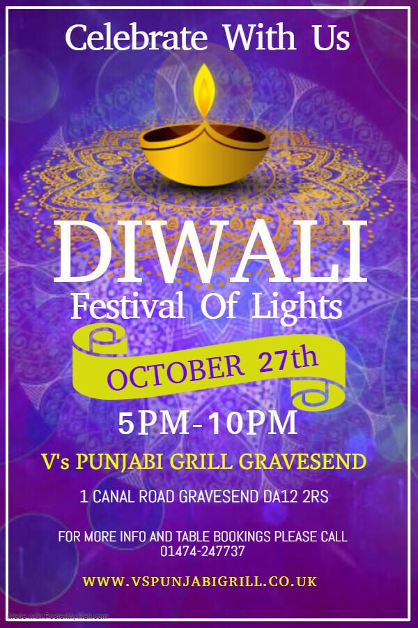 Celebrate Diwali at V's