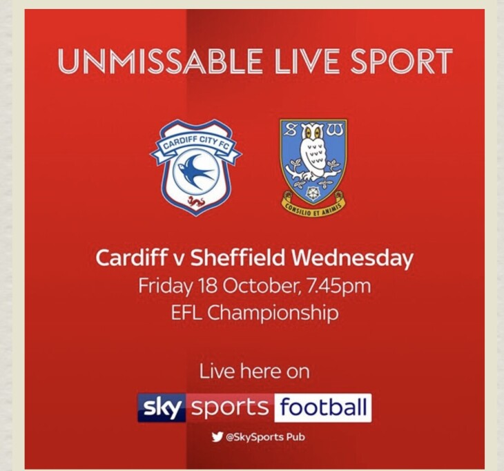 Cardiff v Sheffield weds