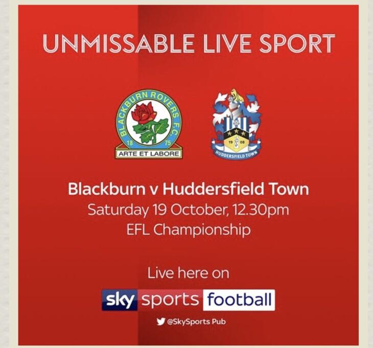 Blackburn v Huddersfield town