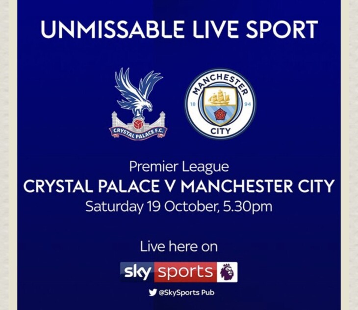 Palace v Man City