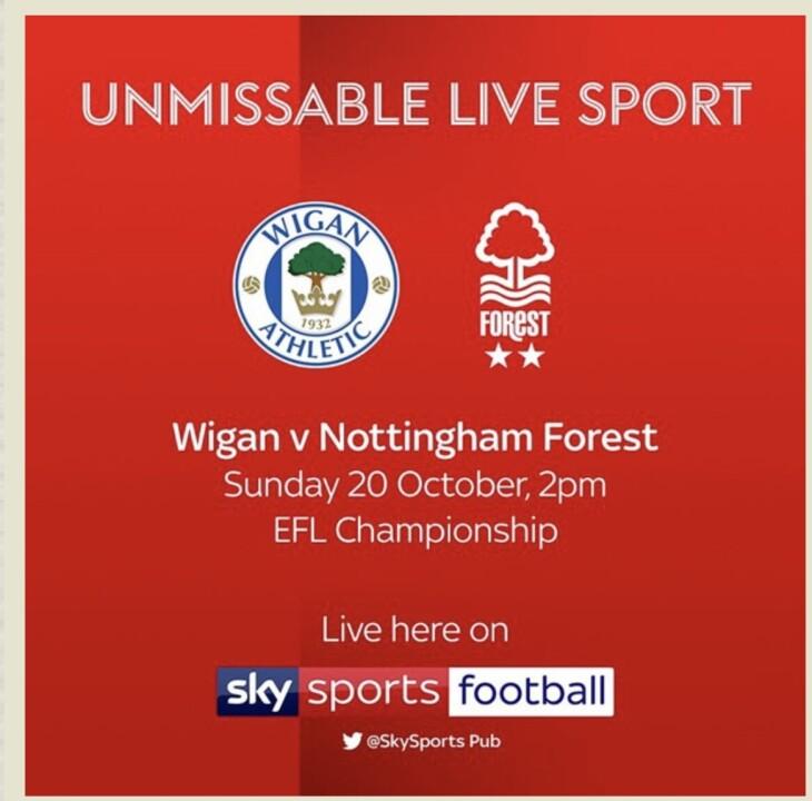 Wigan v Notts Forest