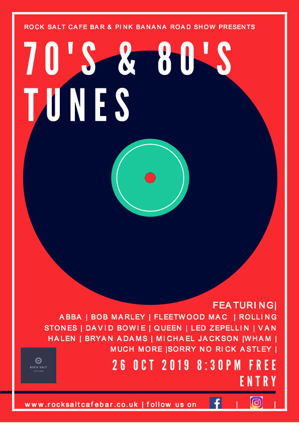 Live Dj 70's & 80's tunes