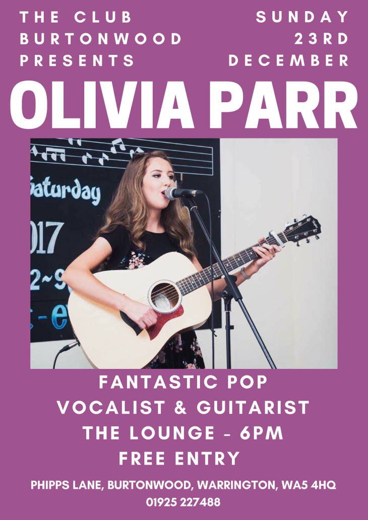 The Christmas Sunday Club: Olivia Parr