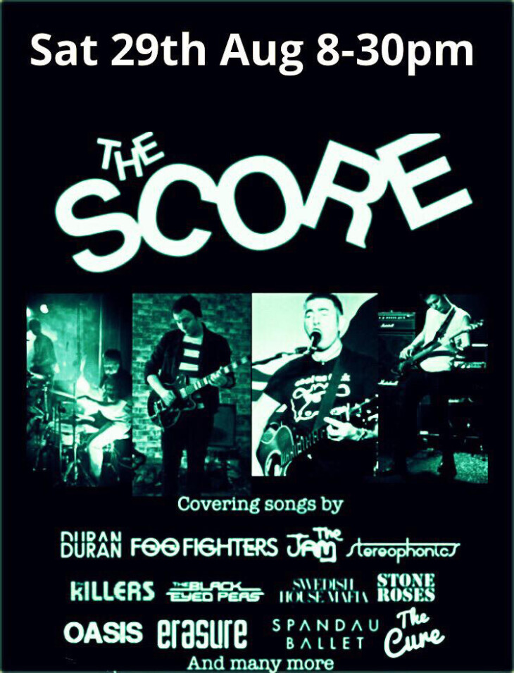 Live Music with The Score