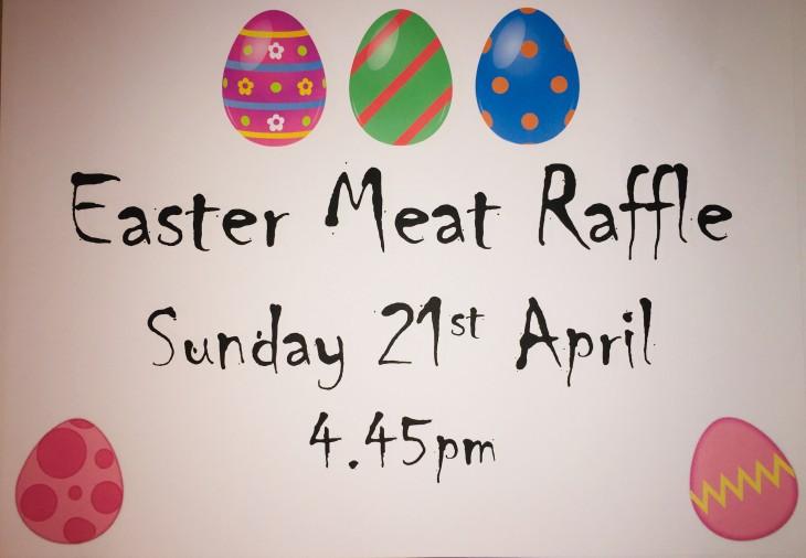 Easter Meat Raffle