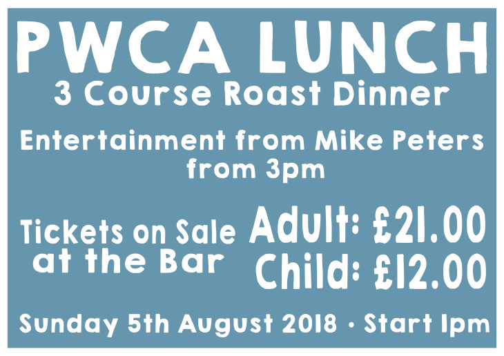 PWCA LUNCH