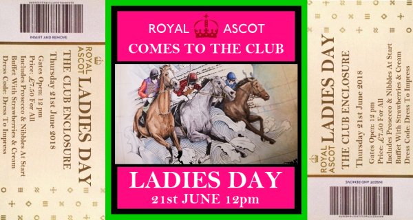 Ladies Day at the Club (Men Included!)