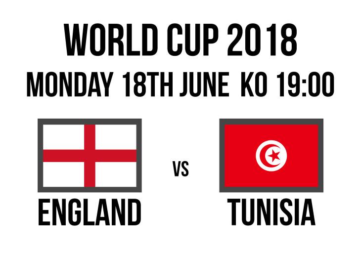 Tunisia     7pm     England