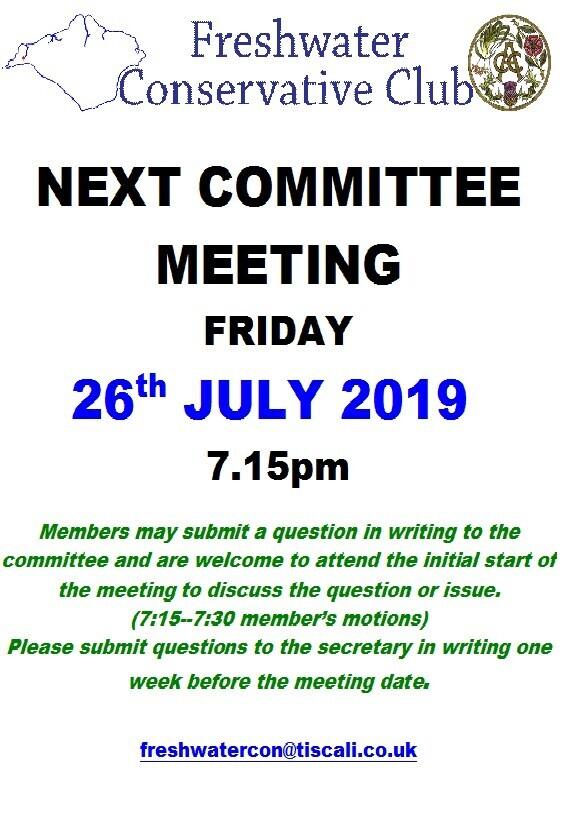 Next Committee Meeting