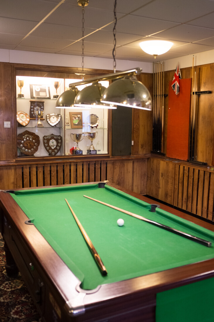 FREE POOL TABLE ON MONDAYS
