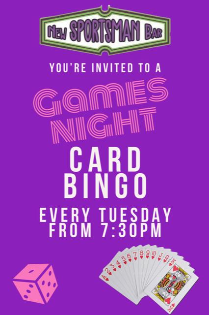 Games Night - Card Bingo
