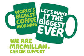 MacMillan Support Coffee and Cake