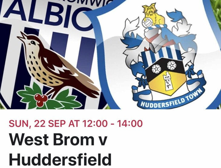 West Brom v Huddersfield town