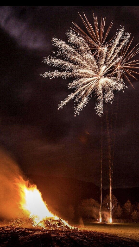 Edale Bonfire Night