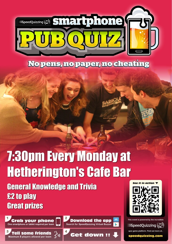 Monday Quiz Night