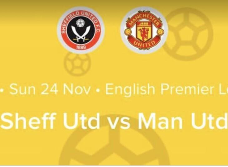 Sheffield Utd v Man U