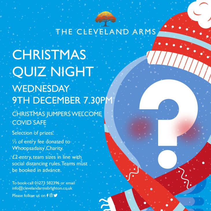Christmas quiz night!!