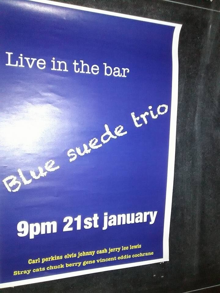 Blue Suede Trio