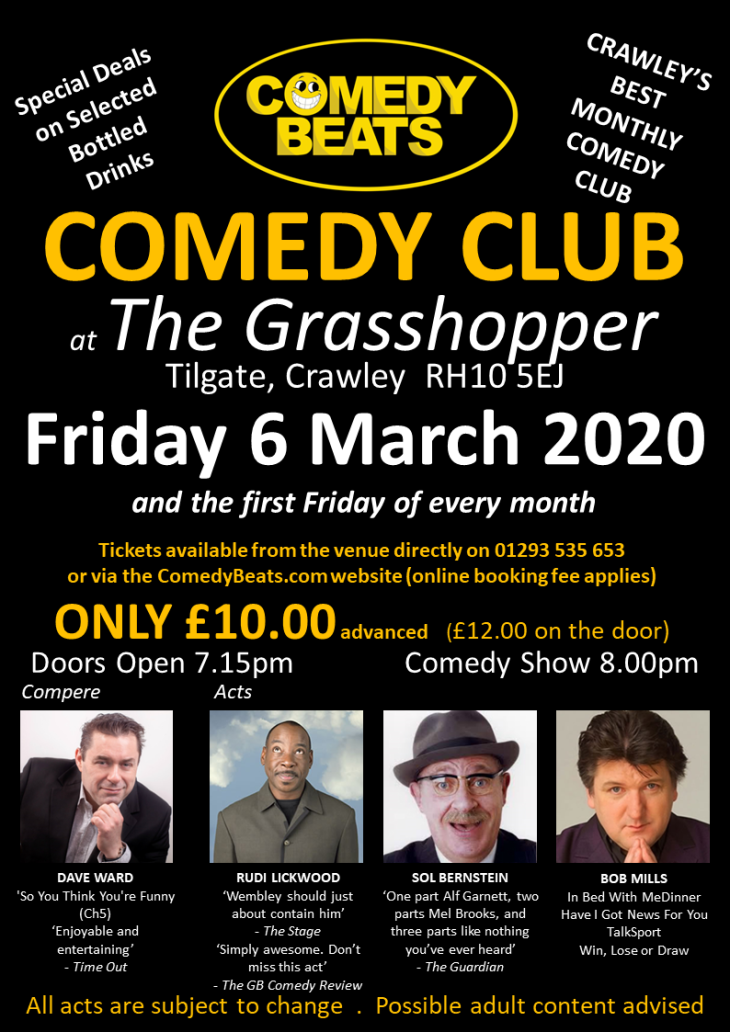 Comedy beats @ the grasshopper