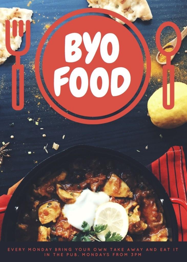BYO FOOD!